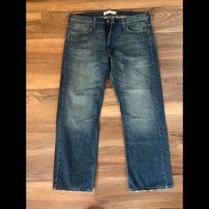 Nice Men's Levi's 569 Loose Straight Jeans!
